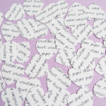 100 x Personalised Confetti..