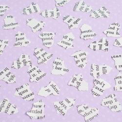 1000 x Romantic Novel Wedding Bell Confetti - Great for Weddings, Invites, Table Decor, Favours